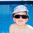 Little boys enjoying their summer holiday — Stock Photo #10961459