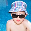 Stock Photo: Little boys enjoying their summer holiday