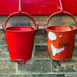 Fire buckets — Stock Photo #11472345