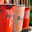 Fire buckets — Stock Photo #11472560