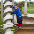 Little boy playing in the park — Stock Photo #11681497