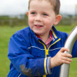 Little boy playing in the park — Stock Photo #11681677