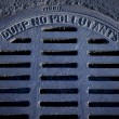 Stockfoto: Sewer grate