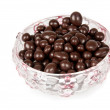 Raisins in chocolate — Stockfoto