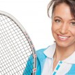 Royalty-Free Stock Photo: Playing tennis