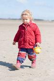 Na pláži — Stock fotografie