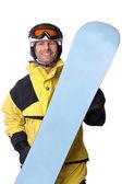 Snowboarder — Fotografia Stock