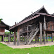 The house in Thai style — Stock Photo