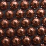 Little golden Metallic Magnetic balls — Stock Photo #12208248
