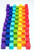 Cubes colorés — Photo