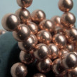 Little blue green Metallic Magnetic balls — Stock Photo #12273231
