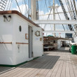 Port of Hamburg 2012 - On the deck of a tall ship — Stock Photo