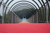 Structures - Slinky Bridge in Oberhausen — Stock Photo