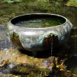 Stock Photo: Well in Japanese Garden