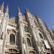 Duomo of Milan - Stockfoto