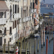 Buildings on water, Venice - Stock Photo