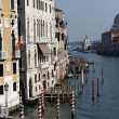 View of Venice Gran Canal - Stock Photo