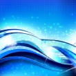 Abstract Wave Flow Composition - Image vectorielle