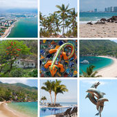 Mexico travel collage — Stock Photo