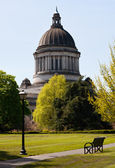 Olympia Capitol in Washington state — Stock Photo