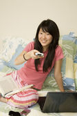 Asian American — Stock Photo
