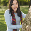 Stockfoto: Teenage girl