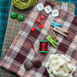 Various sewing supplies. — Stock Photo