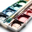 Palette of watercolor paints. — Stock Photo #11002428