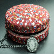 Old indian jewelery box. — Stock Photo