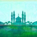 Ramadan kareem card , raster — Stock Photo