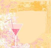生日酒会的邀请 — 图库矢量图片