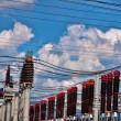 Stock Photo: Transformer station