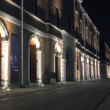 Portsmouth Dockyard at night — Stock Photo #11498496