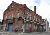 昔のポンプ ステーション — ストック写真