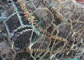 Lobster & crab pots — Stock fotografie