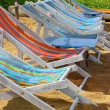 Deckchairs — Stockfoto