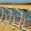 Stock Photo: Deckchairs