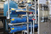 Industrial boiler water plant — Stock Photo