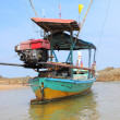Fishing Tailboats of Thailand — Stock Photo