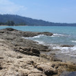 Rocky Asian coast — Stockfoto