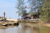 A Thailand shack — Stock Photo