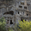 Tombs of Fethiye — Stock Photo