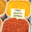 Fresh saffron - Stock Photo