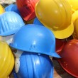 Hard hats — Stock Photo
