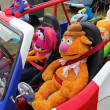 Royalty-Free Stock Photo: Puppets driving
