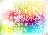 Resumen antecedentes con buzos poco de papeles volando, multicolor, colorido — Vector de stock