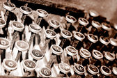 Antique Keyboard — Stock Photo
