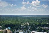 Memphis Aerial East — Stock Photo
