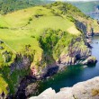 Stock Photo: North Devon coastline near Lynton Devon