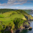 North Devon coastline near Lynton Devon — Stock Photo